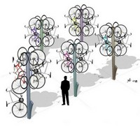 Conceptual Bike Tree, from Coroflot